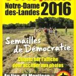 Retour sur les Semailles de Démocratie à Notre-Dame-des-Landes les 9 et 10 juillet 2016