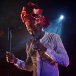 Baloji à l'Ubu : leçon de live