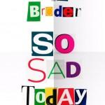 Melissa Border, si triste aujourd'hui