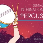 1er poum-tchak pour la biennale internationale de la percussion