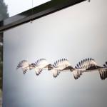 Nuées d'oiseaux à l'université Rennes 2
