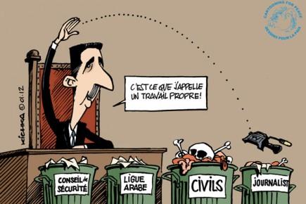 Bashar-Assad-2012_Michel-Kichka