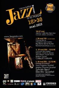 Affiche Jazz à la Harpe 2015