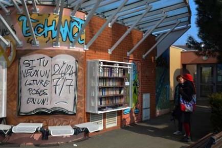 Bibliothèque de rue Bel Air 2bis