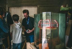 Visite des ateliers - Inauguration - Ferme de Quincé - Louise Quignon