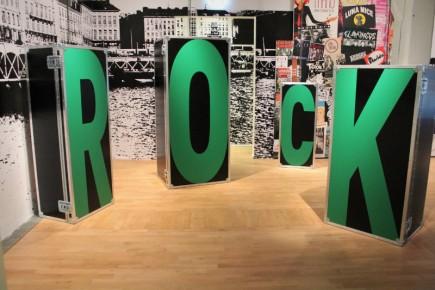 Expo Rock une histoire nantaise- Scènographie - Franck Amouroux