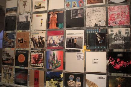 Expo Rock une histoire nantaise- Visuels albums - Franck Amouroux