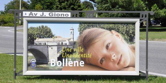 Affiche-ville-de-BOLLENE