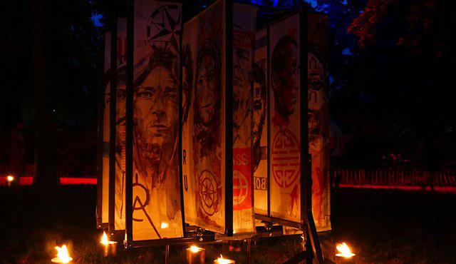 La Compagnie Carabosse : du feu et des peintures