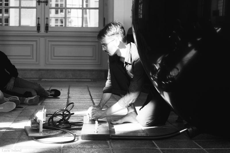 """Expérience 7 : Octave Courtin """"Carpharnaüm"""", salle des Pas Perdus, Parlement de Bretagne"""
