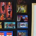 Pochoirs, collages, peinture ; Tarek transporte NY au coeur de la galerie.